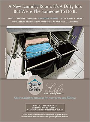 Closet & Storage Concepts Ads