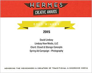 Hermes Gold Award 2015